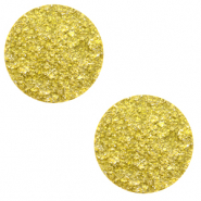 12 mm flach Cabochon Polaris Elements Goldstein Empire yellow