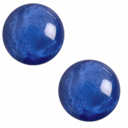 12 mm classic Cabochon Polaris Elements pearl shine Iolite blue