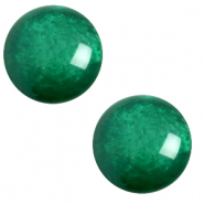 12 mm classic Cabochon Polaris Elements pearl shine Agata green