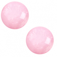 12 mm classic Cabochon Polaris Elements pearl shine Quarzo pink