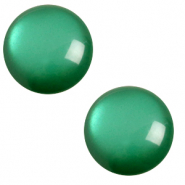 12 mm classic Cabochon Polaris Elements soft tone Agata green