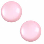 12 mm classic Cabochon Polaris Elements soft tone Quarzo pink