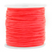 Macramé Band 0.8mm Living coral red
