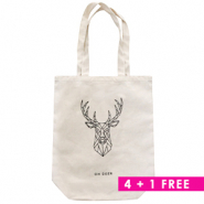 Combi deal 2 | Fashion Tasche Canvas 4 + 1 Gratis