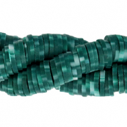 Katsuki Perlen 6mm Dark teal green
