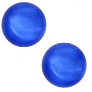 12 mm classic Cabochon Polaris Elements Mosso shiny Princess blue