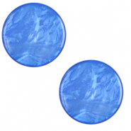 12 mm flach Cabochon Polaris Elements Lively Princess blue