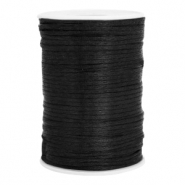Satin Draht 2.5mm Black