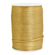 Satin Draht 2.5mm Gold