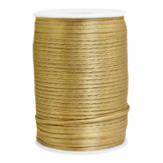 Satin Draht 2.5mm Antique gold