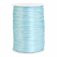 Satin Draht 2.5mm Ice blue