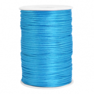 Satin Draht 2.5mm Deep sky blue