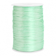 Satin Draht 2.5mm Neo mint green