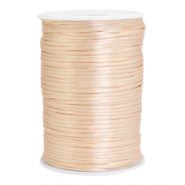 Satin Draht 2.5mm Peachy rose