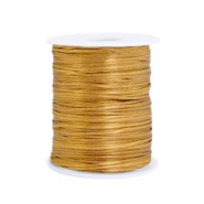 Satin Draht 1.5mm Gold