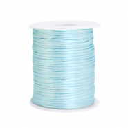 Satin Draht 1.5mm Ice blue