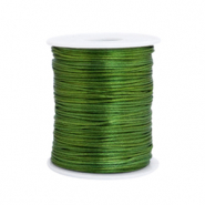 Satin Draht 1.5mm Dark green