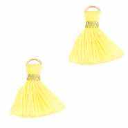Perlen Quaste 1.5cm Gold-sunshine yellow