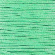 Wachskordel 1.0 mm Turquoise green
