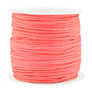 Macramé Band 1.5mm Spar Rolle Coral red