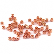 Quetschperlen DQ 2 mm rosegold plated