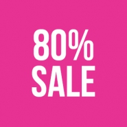 Sale 80% Mega outlet