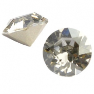 Swarovski Elements chaton SS29 (6.2mm) crystal silver shade