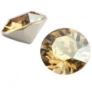 Swarovski Elements chaton SS29 (6.2mm) crystal golden shadow