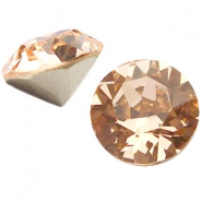 Swarovski Elements chaton SS39 (8mm) light peach