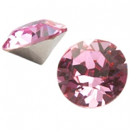 Swarovski Elements chaton SS29 (6.2mm) light rose
