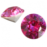 Swarovski Elements chaton SS29 (6.2mm) fuchsia