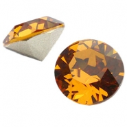 Swarovski Elements chaton SS29 (6.2mm) topaz