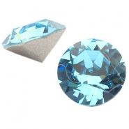 Swarovski Elements chaton SS29 (6.2mm) aquamarine blue