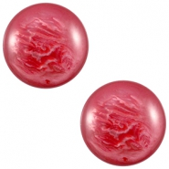 Cabochon Polaris 12 mm pearl shine jester red