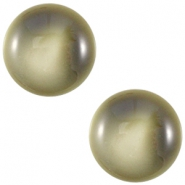 Cabochon Polaris 12 mm centroperla capulet olive green