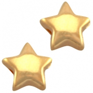 Stern DQ Metall 6mm gold (nickelfrei)