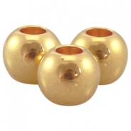 Ball DQ Metall 5x6mm gold (nickelfrei)