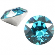 Swarovski Elements chaton SS29 (6.2mm) indicolite blue