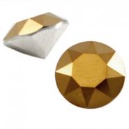 Swarovski Elements chaton SS29 (6.2mm) dorado gold