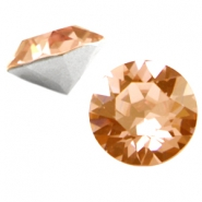 Swarovski Elements chaton SS29 (6.2mm) light smoked topaz