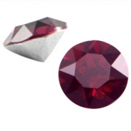 Swarovski Elements chaton SS29 (6.2mm) burgundy red