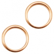 DQ Metall Ring 8x1.2mm ø6mm rosegold (nickelfrei)