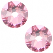 Swarovski Elements flatback 2088-SS34 Xirius Rose light rose
