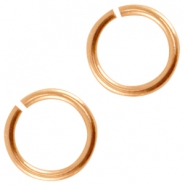DQ Metall Bindering 6.5mm Rosegold (nickelfrei)