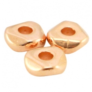 DQ Metall Perle 4.8x1.9mm Rosegold (nickelfrei)