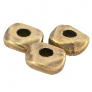 DQ Metall Perle 4.8x1.9mm Antik bronze (nickelfrei)