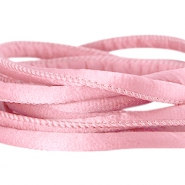 Seidenband DQ gesteppt 6x4mm Antique pink
