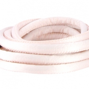 Seidenband DQ gesteppt 6x4mm Light rose