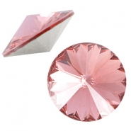 Swarovski Elements 1122-Rivoli chaton 12mm Blush Rose