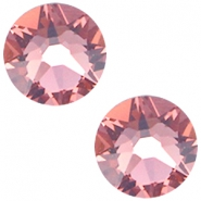 Swarovski Elements flatback 2088-SS34 Xirius Rose Blush Rose